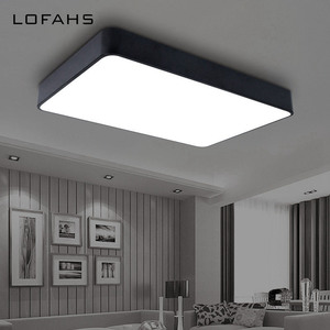 Image 3 - LOFAHS Modern LED ceiling light simple rectangle ceiling fixtures study office dining room bedroom living room led lamp