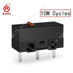Image 5 - Kailh High life mikro przełącznik z 10/20/30M cykl Mechamicroswitch 3 piny SPDT 1P2T mysz do gier mikro przełącznik przycisk myszy