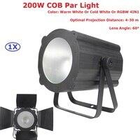 2017 New Design COB 200W LED Led Stage Par Light With DMX512 For Disco DJ Projector