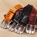 Ретро кожаный ремень мужской кожаный иглы пряжки ремня чистая кожа досуг бизнес пояса