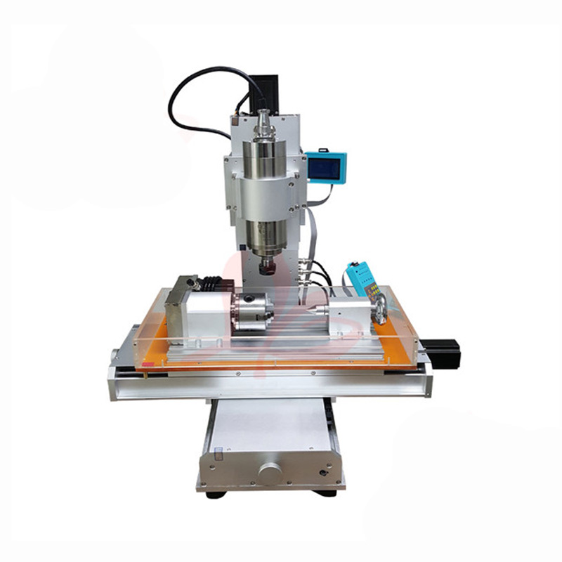 4 axis pillar type cnc machine CNC 3040 engraving machine Ball Screw Table Column Type woodworking cnc router