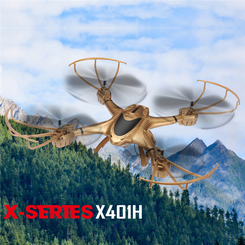 MJX X401H 2.4G RC quadcopter 6-axis With FPV 720P HD Camera Altitude Hold Mode Headless RC Quadcopter RTF Phone WiFi APP control mjx x601h wifi fpv 720p cam air pressure altitude hold 2 4ghz app control 4 channel 6 axis gyro hexacopter 3d rollover