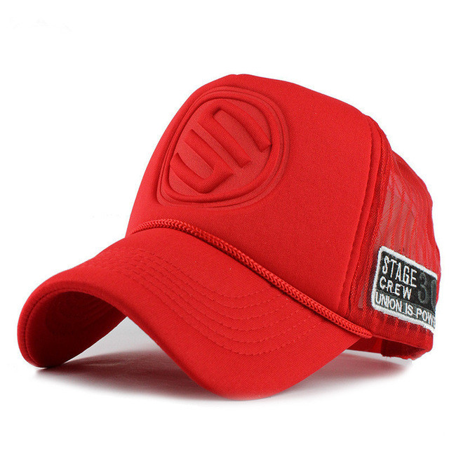 ALLKPOPER Baseball Caps Summer Hats & Caps men women Trucker Hat Fitted Casual Hip-hop Adjustable Cap Street Mesh Casquette