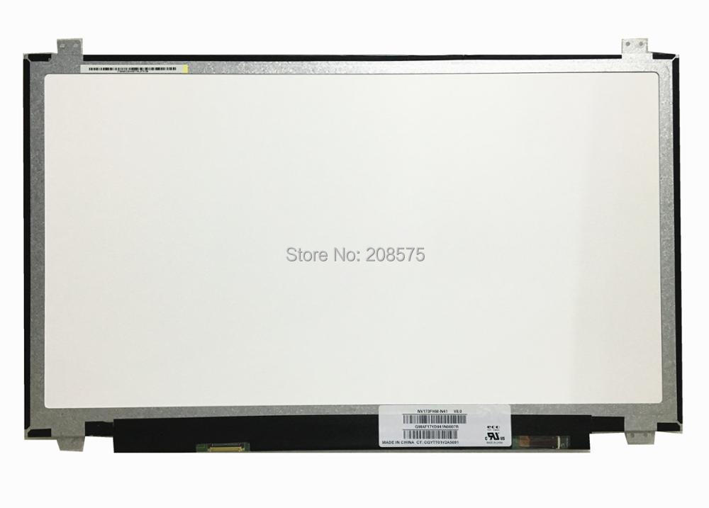 Free shipping NV173FHM-N41 NV173FHM-N41 fit B173HAN01.0 LP173WF4 SPF1 LTN173HL01-401 Laptop lcd screen 1920*1080 edp 30pins IPS free shipping b140han03 4 laptop lcd screen 1920 1080 edp 30 pin ips