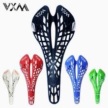 VXM – selle de vélo araignée en plastique ultralégère, ajourée, pour route/vtt, très respirante, avec coussin, pièces de bicyclette