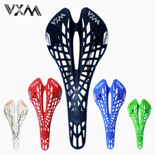Ультралегкое пластиковое седло VXM для велосипеда, эргономичное ажурное седло для дороги/горного велосипеда, дышащая подушка, запчасти для велосипеда
