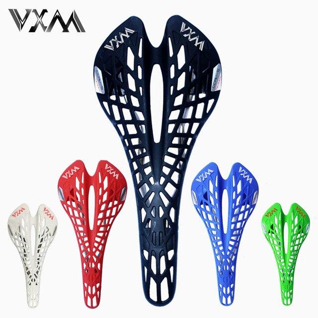 Vxm Sillines ultraligero plástico Spider ergonomía Hollow Road/MTB súper transpirable asiento Cojines Partes de bicicleta