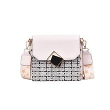 цены на Ladies fashion Messenger bag mini square bag shoulder bag Messenger bag clutch bag ladies handbag 2019 new free shipping  в интернет-магазинах