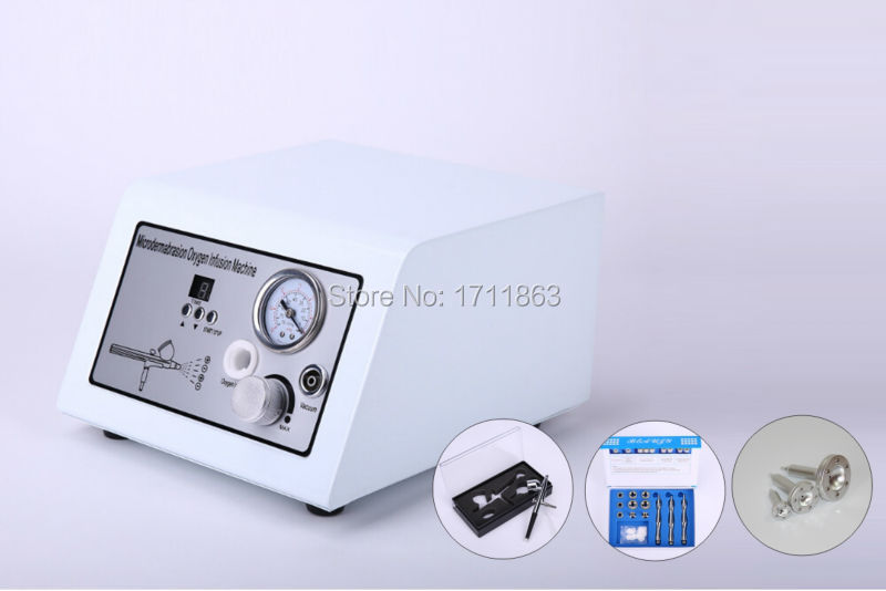 Best Selling vacuum suction lymph drainage diamond wrinkle removal oxygen jet peel facial care mchine