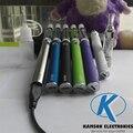 Nenhum extra carregador de bateria evod passthrough 5pin micro USB com 2.4 ml t3s 2.4 ml BCC tanque atomizador cigarro eletrônico kit