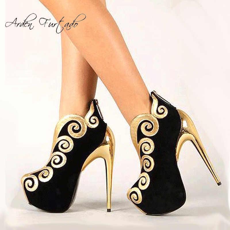 c974e61b11 2019 zapatos de mujer de estilo caliente de moda Zapatos de fiesta de  plataforma elegantes tacones