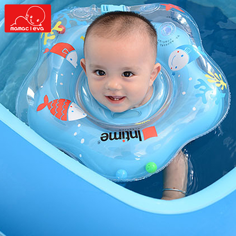 Baby Swimming Ring Inflatable Children Infant Armpit Swim Circle Baby Swimming Floating Ring Neck Bathing Pools Accessories