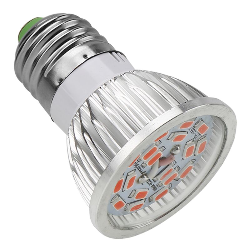 Ac85 265v 18 Led Plant Growth Light Full Spectrum Cfl Ir Uv Growing Lamp 18 Leds