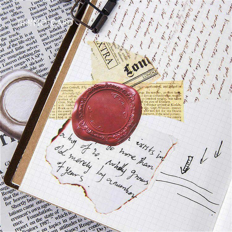 46 sztuk/paczka ogień uszczelnienie koperta papierowa europejski styl wiadomość karty list stacjonarne do przechowywania papieru naklejki prezent