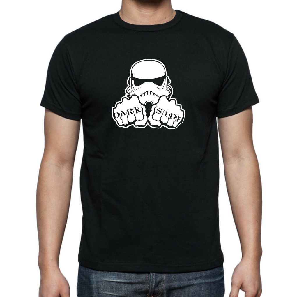STAR WARS STORM TROOPER DARK SIDE T shirt Up to 5XL FREE UK POST Free shipping Harajuku Tops Fashion Classic Unique in T Shirts from Men 39 s Clothing