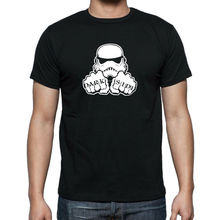 STAR WARS STORM TROOPER DARK SIDE T-shirt Up to 5XL FREE UK POST Free shipping Harajuku Tops Fashion Classic Unique все цены