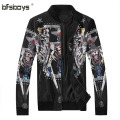 autumn winter 2016 New  Fashion jackets Coats Casual Slim Stand Collar brand Jacket Men  zipper Overcoat 8875