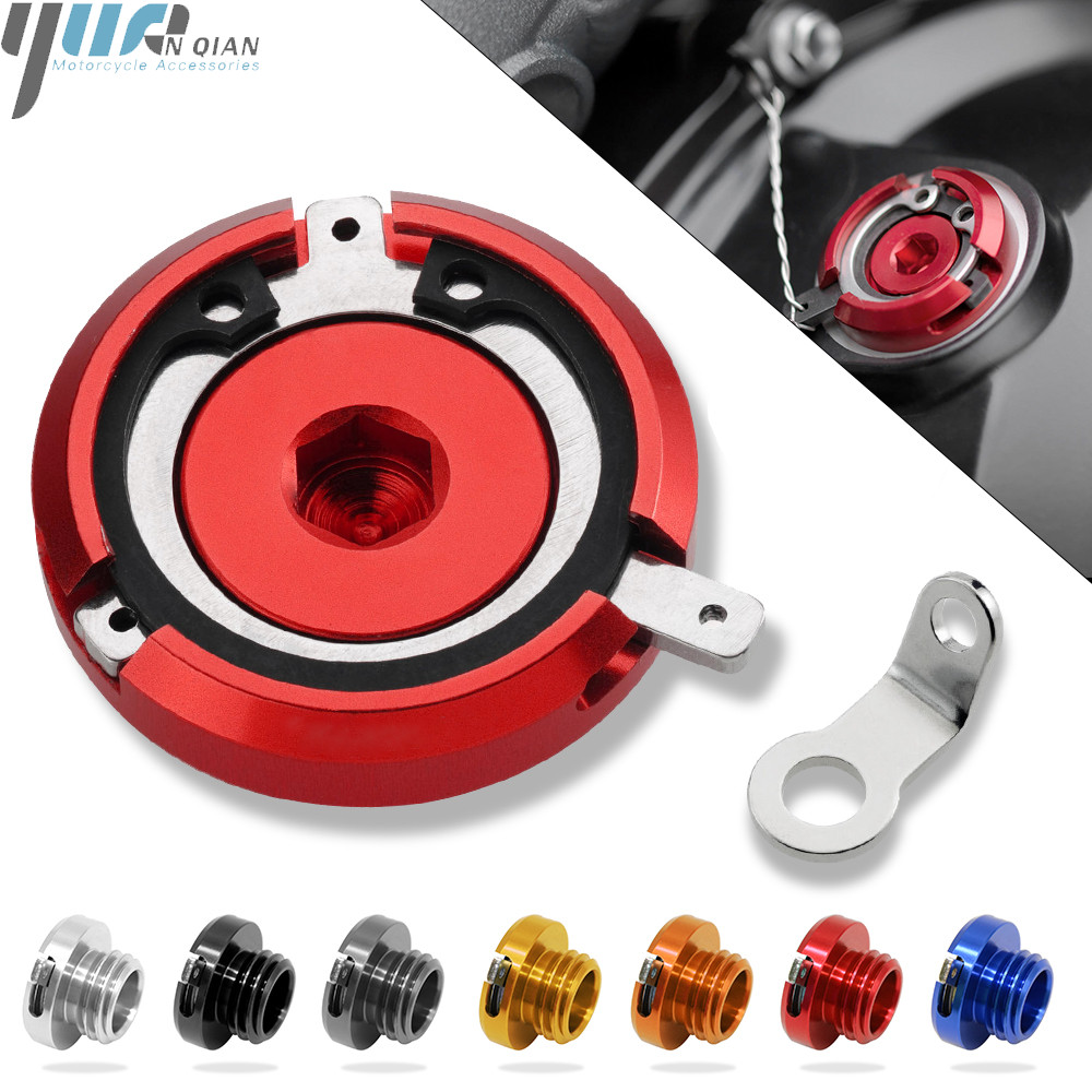 Image 2 - M20*2.5 Motorcycle Reservoir Engine Oil Filter Cover Cap For HONDA CB1000R 08 16 ST1300/ST1300A 2003 07 CBR125R 2005 SPORT 1000-in Covers & Ornamental Mouldings from Automobiles & Motorcycles
