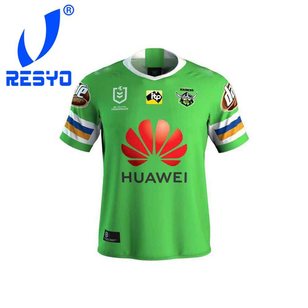 ed7269ba88e RESYO for NRL 2019-2020 Canberra Raiders RUBGY JERSEYS FOOTBALL SHIRT/TOP  QUALITY FREE