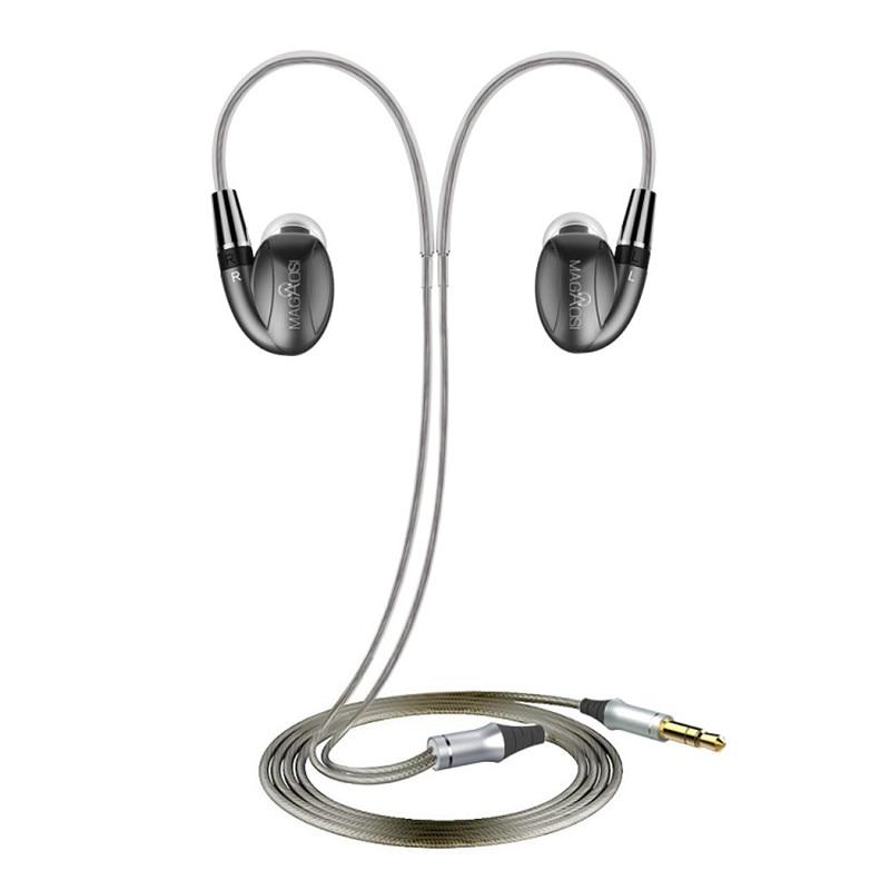 MaGaosi K3 Pro In Ear Earphone 2BA Hybrid with Dynamic 3Units HIFI Earphone Earbud With MMCX Interface Headset