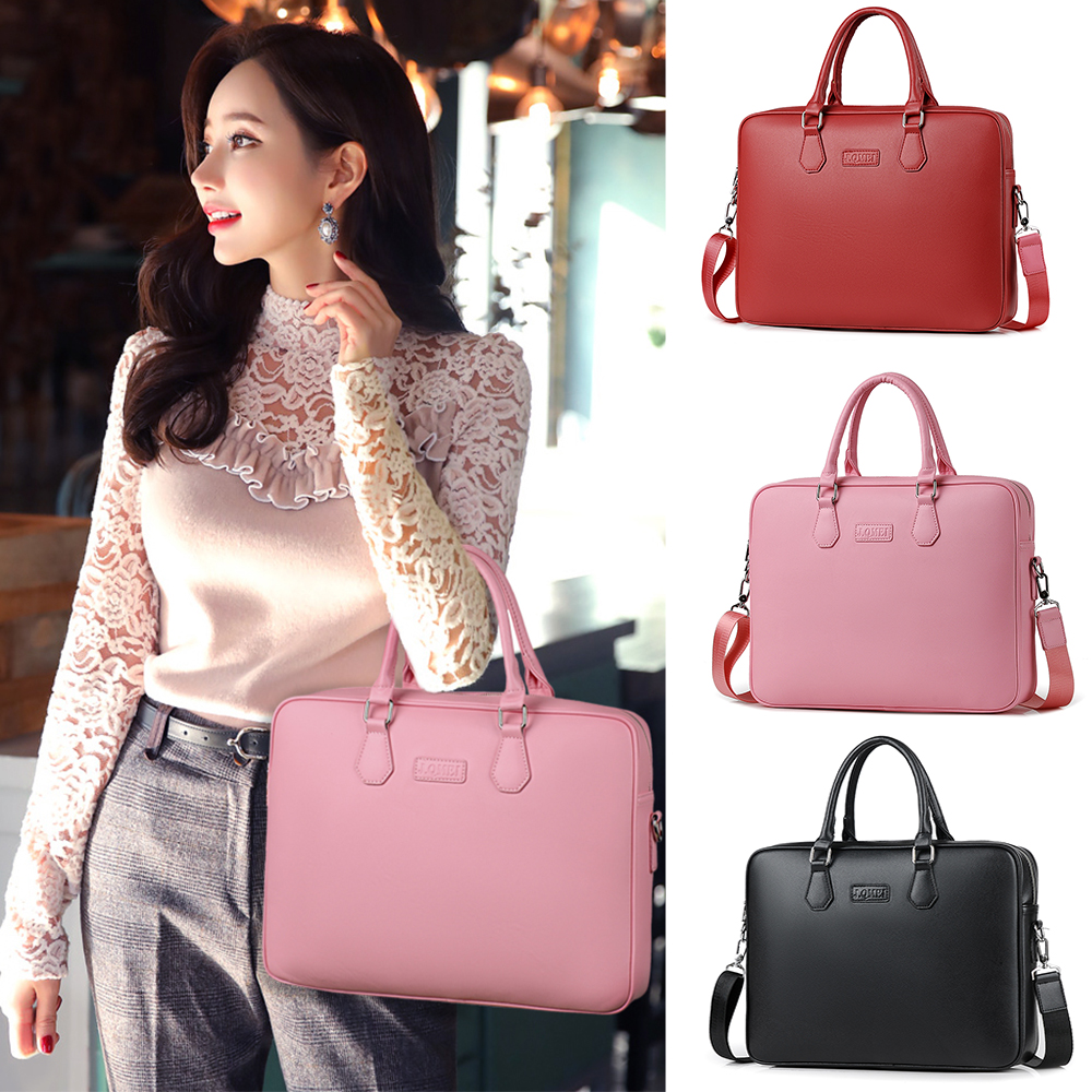 2018 fashion  Newest Brand  Handbag Laptop Bag 14,15,15.6,Sleeve Case For Macbook Notebook Air Pro 14.1 Shoulder Bags hot handbag for laptop 14 for macbook air pro 13 3 13 14 1 lady notebook bag women messenger purse free drop ship 0084s414
