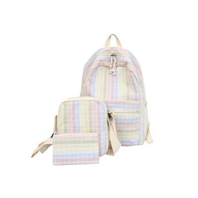 3 Pcs/Set Canvas Backpack School Backpacks Teenage Girls Vintage Laptop Rucksack Bagpack Schoolbag 2018