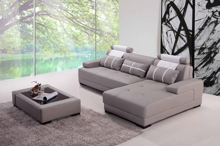 Aliexpress Com Buy Modern Corner Sofas For Leather Corner Sofas