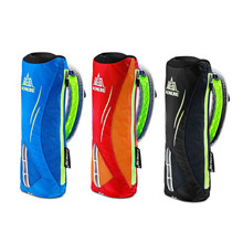 AONIJIE Waterpoof Hand-held Sport Kettle Pack Outdoor Marathon Running Phone Bag for 5.5 inch Phone/500mL Soft Water Flask