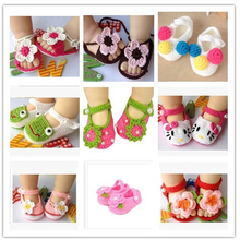 First walker baby boy girl wool shoes Spring Handmade wool baby shoes, children's woven  newest princess shoes     5BS34