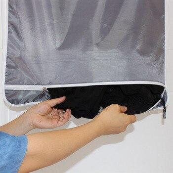 Deur Opknoping Wasserij Tassen Voor Vuile Kleren Wassen Machines Wandmontage Badkamer Opbergtas Opknoping Wasmand Met Haken