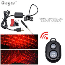 Ceyes Car Styling USB Port LED Lights Car Interior Decorative Accessories Atmosphere Lamp Auto Goods DJ Sound Universal For Home itimo 4 in 1 blue car atmosphere lamp interior light source universal auto accessories led strip lights car styling 12 led