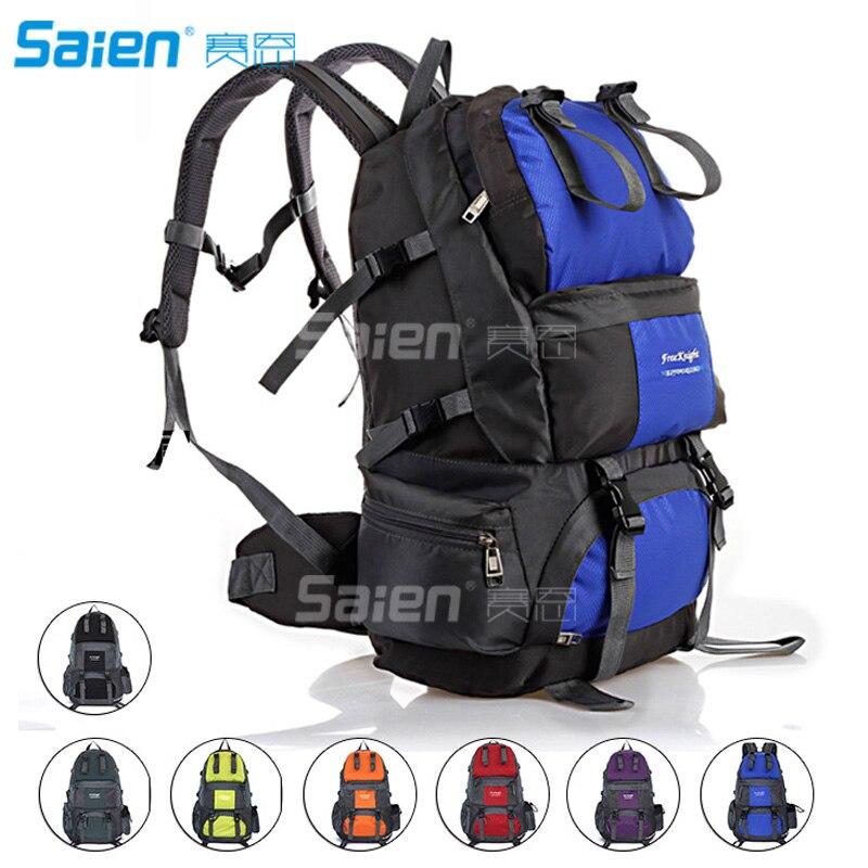 50L sac à dos de randonnée sac à dos étanche Sport de plein air pour l'escalade alpinisme Camping pêche voyage cyclisme ski