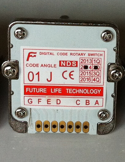 01j Rotary switches band switch FUTURE Digital band switch NDS feed override CNC panel knob switch NDS-01j цена