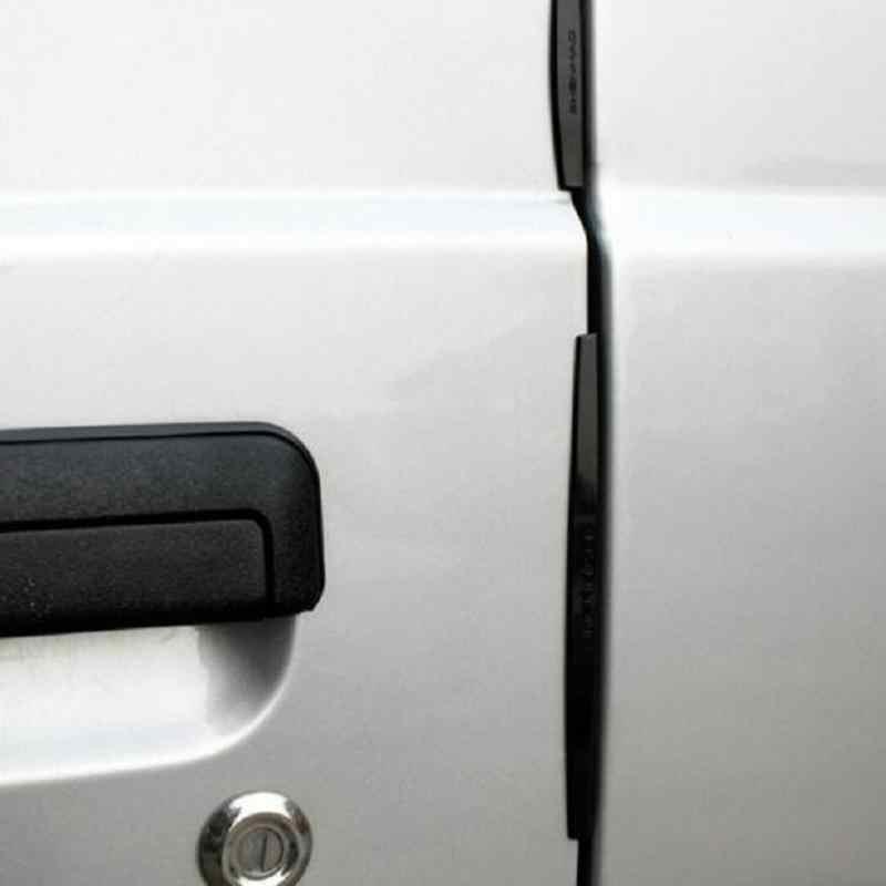 8 Buah/Set Universal Mobil Pintu Edge Penjaga Trim Molding Protection Strip Awal Protector Dropshipping