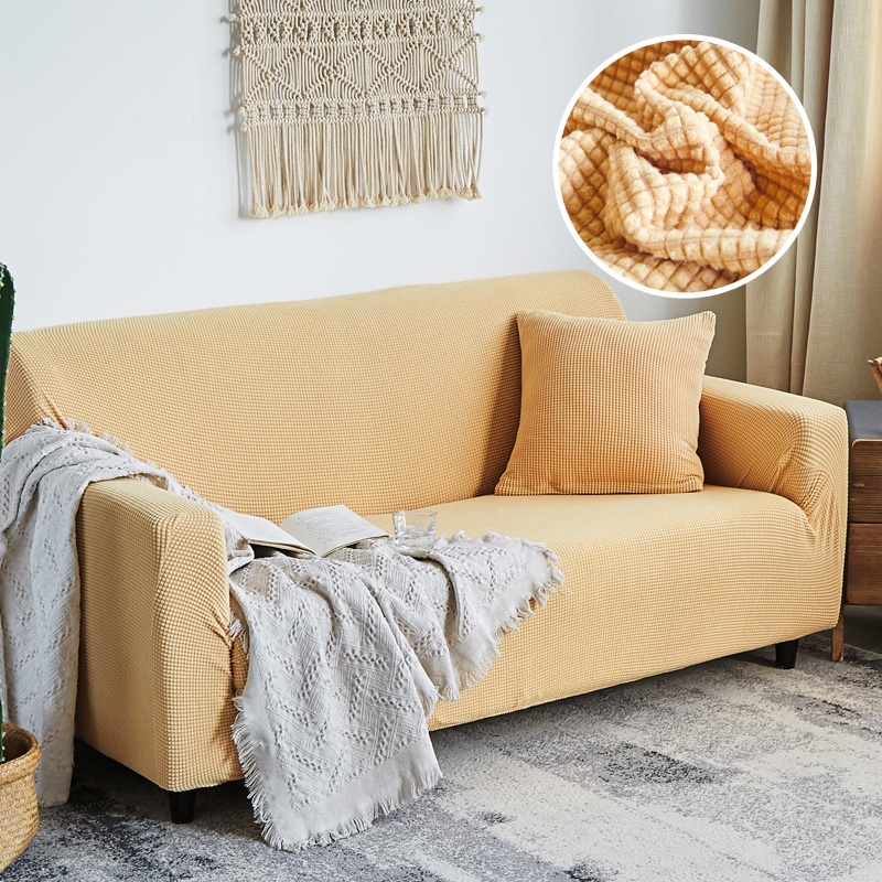 Sofa cover slip-resistant Thick corn kernels Sofa covers sectional elastic full Couch Cover sofa Towel 1/2/3/4-seater 1pcsSofa cover slip-resistant Thick corn kernels Sofa covers sectional elastic full Couch Cover sofa Towel 1/2/3/4-seater 1pcs