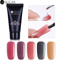 UR AZÚCAR 30 ml Crystal Poly Gel Nail Gel Extension UV Gel Creador Quick Building Nail Art Gel Varnish Jelly Consejos de acrílico Extender