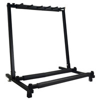 ABGZ New 5 Way Multi Folding Guitar Rack Stand by Chord For Electric Bass Acoustic Guitar Ukelele Holder Rack Stand