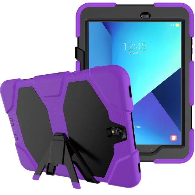 For Samsung Galaxy Tab 3 T210 T211 P3200 7.0 Tablet Case Heavy Duty Defender Rugged TPU+PC Hybrid Armor Shockproof Kistand Cover