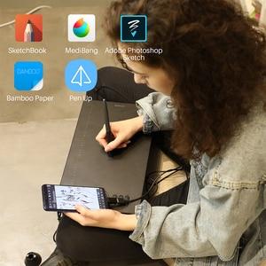 Image 3 - HUION HS610 גרפי טבליות דיגיטלי עט Tablet טלפון ציור לוח עם הטיה OTG סוללה משלוח Stylus עבור אנדרואיד Windows macOS