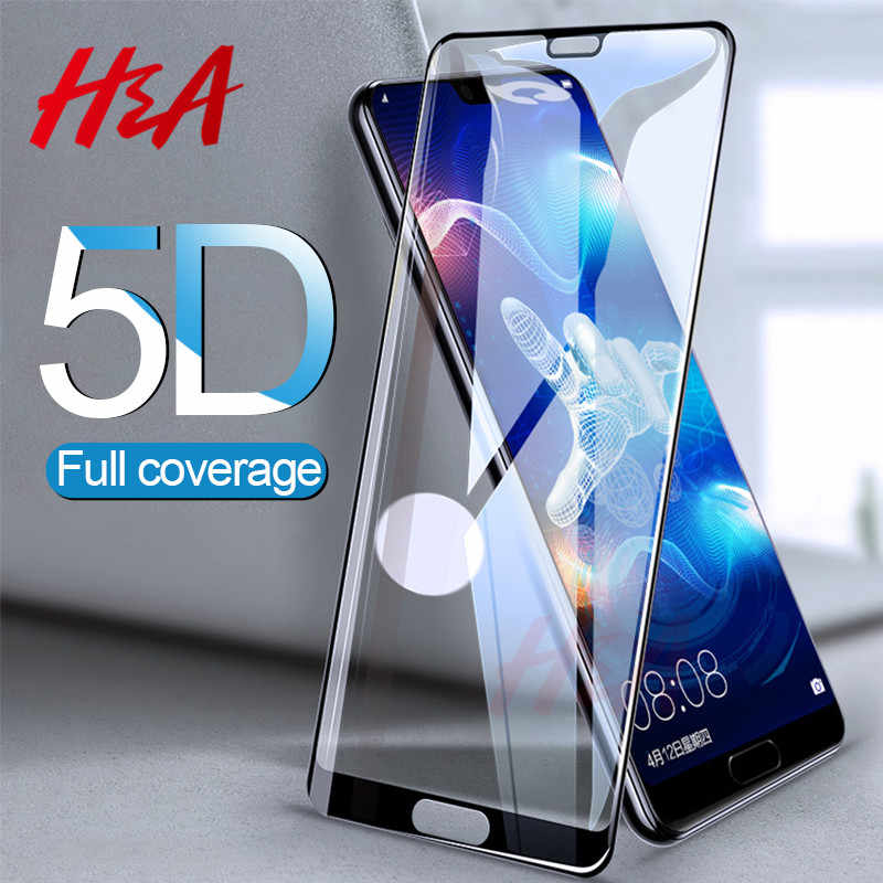 5D Full Cover Tempered Glass For Huawei P20 Lite Pro Protective Glass For Huawei P10 P9 Lite 2017 P10 Plus Honor 9 8 Lite Glass