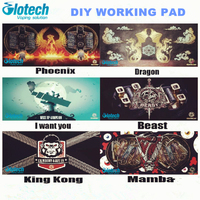 Glotech Electronic Cigarettes DIY Working Pad For Coil Jig Ceramic Tweezer Mat DIY Coiling Tool Working