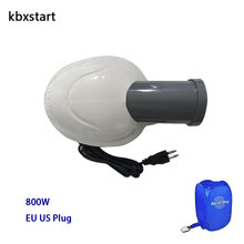 Kbxstart 110V-220V Electric Clothes Dryer Machine EU US 800W Motor For Fast Drying Cloth Can Set Working Time 30-180 Minutes dmwd electric clothes dryer hot air drying shoe machine portable multifunctional garment bed warmer shoes baked device 110v 220v