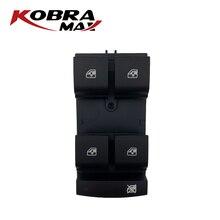 Interruptor frontal izquierdo KobraMax 13305373 para Buick Chevrolet Cruze, interruptor de accesorios profesionales para automóviles