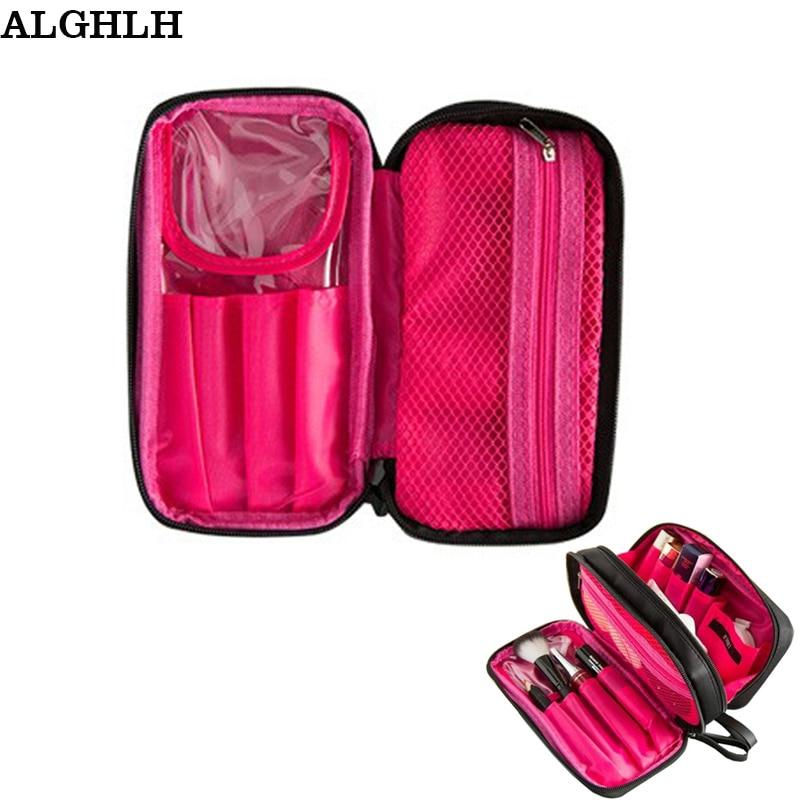 ALGHLH Promociones Impermeable Nylon Tela Belleza Bolsa Cosmética - Organización y almacenamiento en la casa
