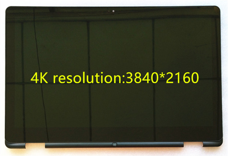 15.6laptop lcd screen For DEL 15 Inspiron 7558 7000 LTN156FL03 3840*2160 4K screen touch lcd screen assembly