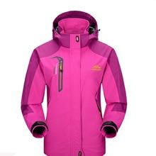 Women Spring/Autumn Hiking Waterproof Jacket