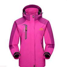 2018 Women Spring Autumn Outdoor Hiking Female Jacket Waterproof Windproof Coat Sports Camping Trekking Climbing Jackets VB002
