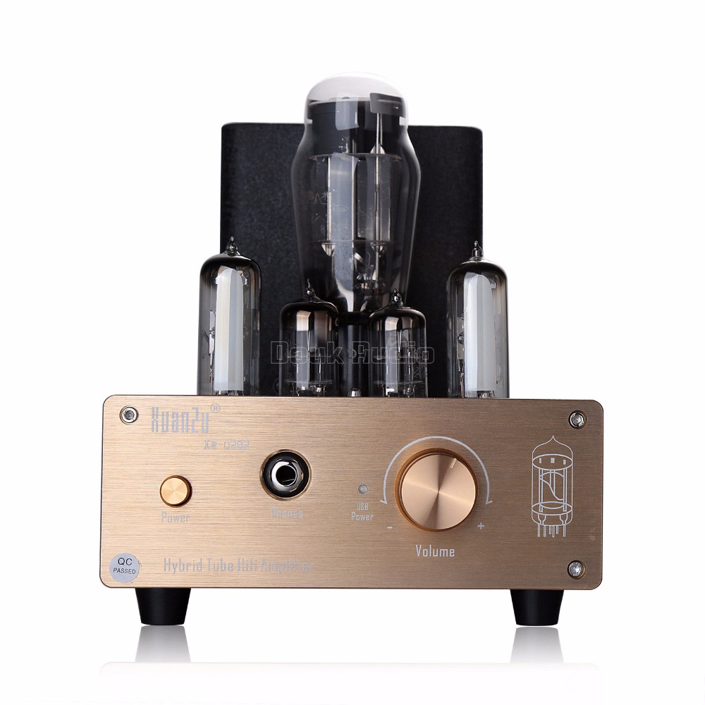 Nobsound Hybrid Class A 6N5P+6N3 Valve Tube Pre-amplifier USB DAC Audio  Decorder HiFi Headphone Amp
