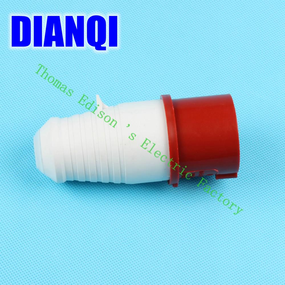 Industrial Plug Socket Coupler 014 CNQD-014 Red 16A 220V~415V 3P+E 4pin 120PCS/carton high quality ac 360 415v 16a ie 0140 4p e free hanging industrial plug red white