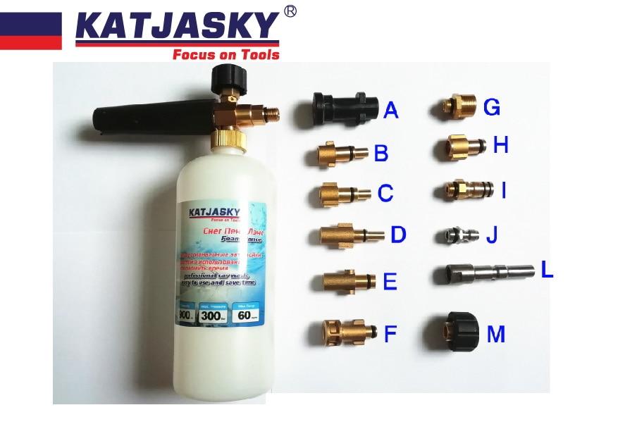 car washer foam gun for Karcher nilfisk lavor BS BD washer foam generator snow bubble lance foamer soap sprayer цены